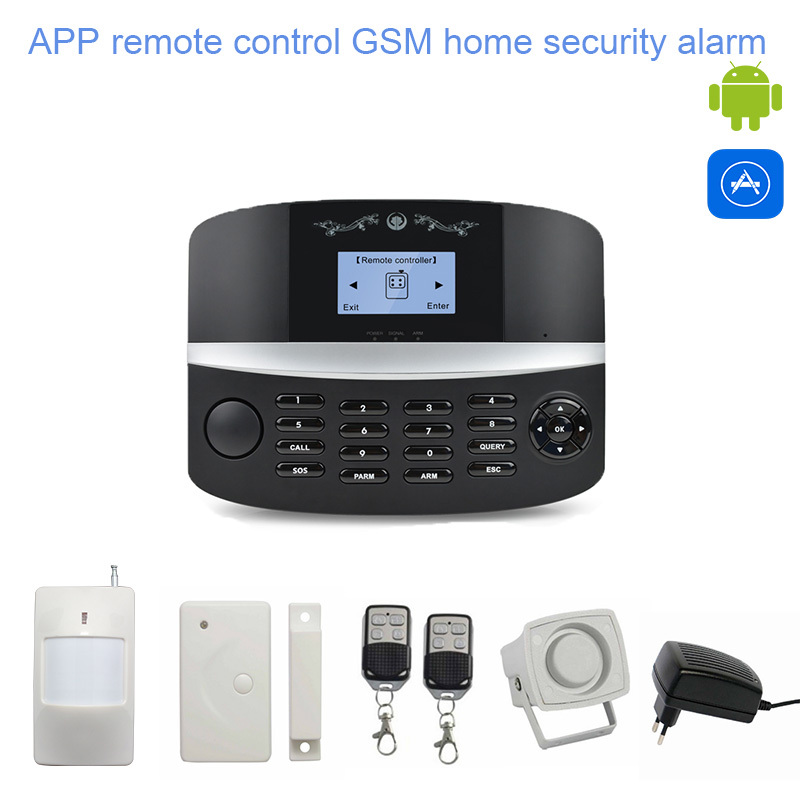 2014 Best honeywell wireless GSM home burglar security alarm system