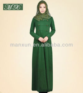 Muslim Women ladies Abaya Modern Islamic Clothing Abaya