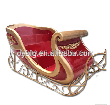 christmas santas sleigh outdoor santas sleigh decoration