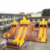 Giant detachable inflatable slide Obstacle Course for sale