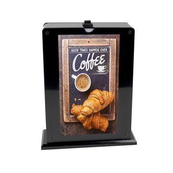 Lisen Echo Advertising Ideas Cafe Menu Bank 20000mah With Lcd Screen Display