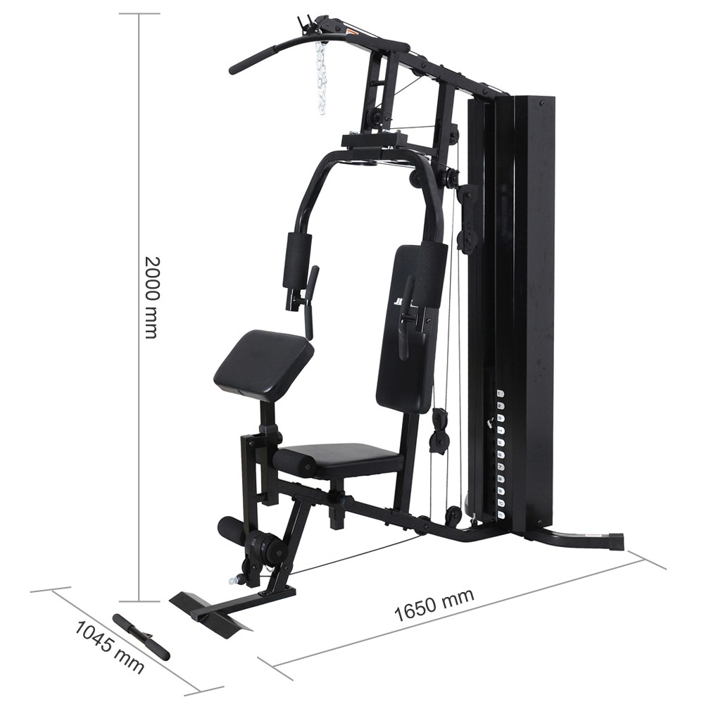 Multi Station Adjustable Fitness Home Gym Equipment