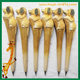 dog Animal shape wood carving fancy pens