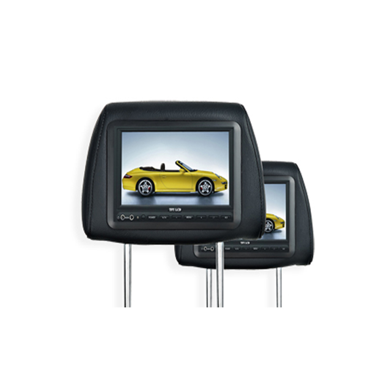 dvd player TFT LCD Monitor with pillow Headerest 7 inches car DVD player