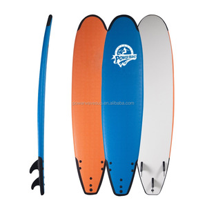8'0 Soft Top Surfboards Customized EVA Bumper Soft Surfboards OEM IXPE Soft Surfboards