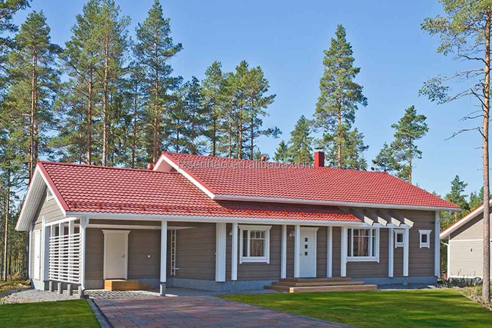 Eenvoudige prefab blokhutten houten kleine huis roemeni draagbare hutten villa 39 s product id - Kubieke villa ...