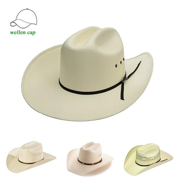 Promoción damas paja sombreros vaquero/cowboy, Compras online de ...