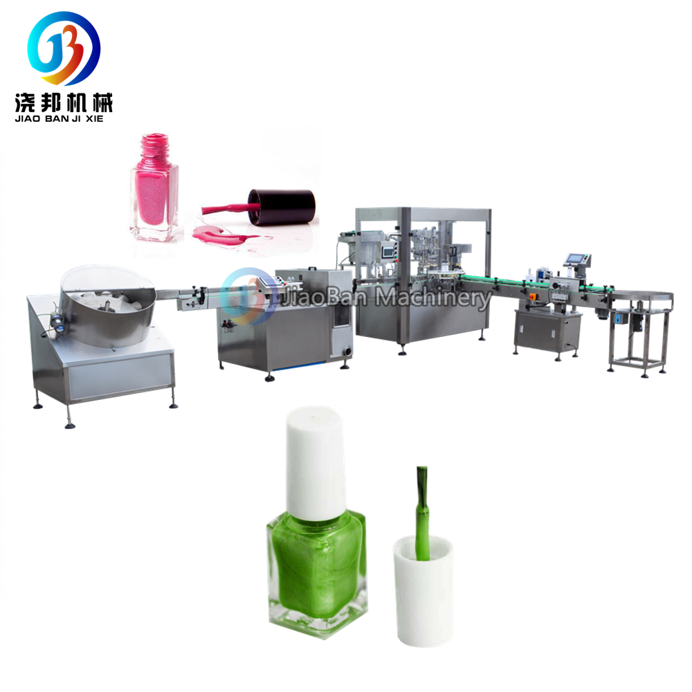 Factory price automatic nail paint /nail polish filling machine , 5-20ml nail polish filling and capping machine