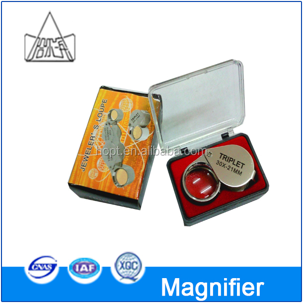 30x 21mm Jewelers Eye Loupe Magnifier Magnifying glass/LOUPE/magnifier