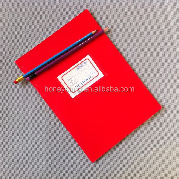 goverment order school suit case notebook with pocket