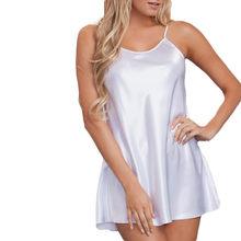 Женское нижнее белье, тянущиеся ночная рубашка большого размера с S-3XL(Китай)