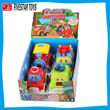 Hot-selling lovely inertial car cartoon toy inertial cartoon car for kid