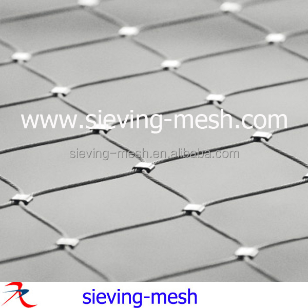 Inox Rockfall Protect Net/ Stainless Steel Wire Rope Mesh