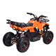 New model aluminium alloy frame material adult electric atv 36v cheap kids electric quad bike with big wheel