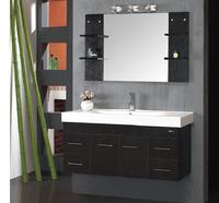 CUPC , SGCC approved bathroom furniture oak solid wooden shower cabinets