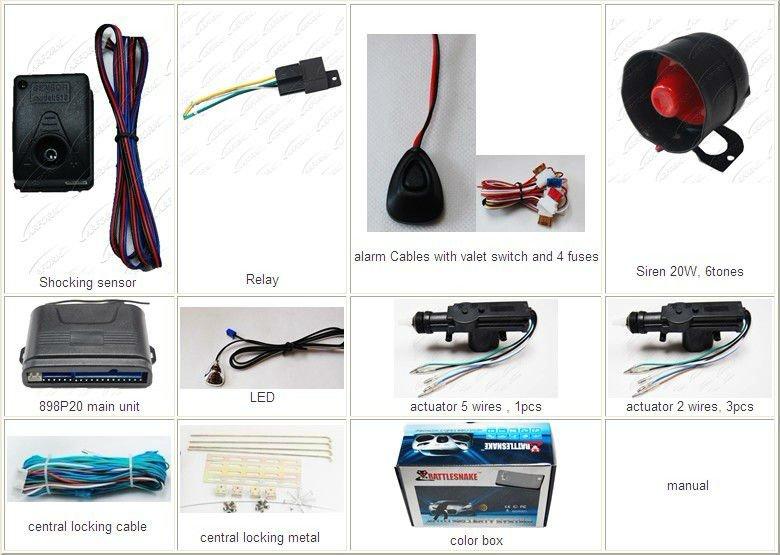 best selling high quality circuit board tenon temperature sensor car alarm  system  wiring diagram: