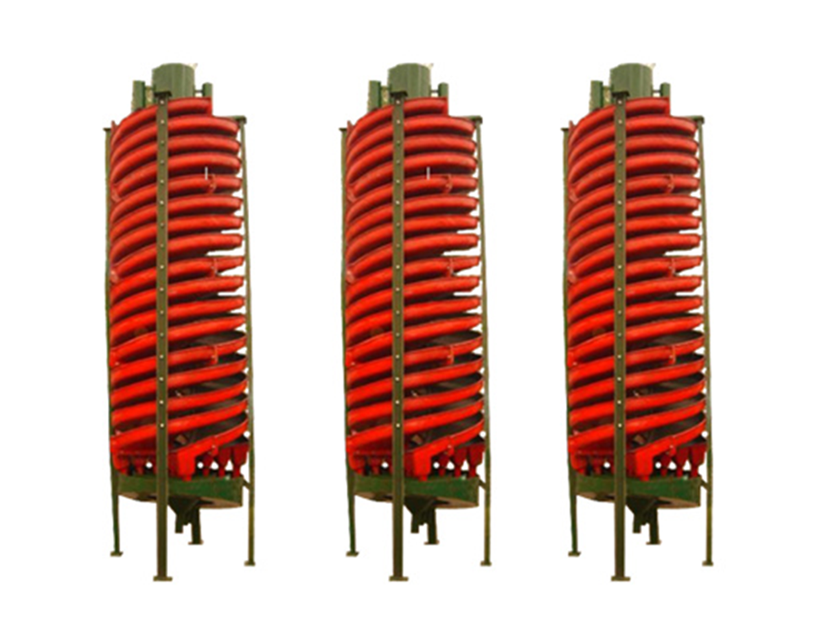 glass fiber reinforced plastics mineral separator / spiral chutes / vertical spiral classifier for concentrating