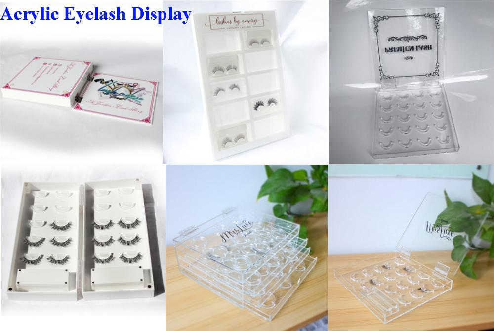 24910526ffb Wholesale Custom Clear Acrylic Eyelash Extension Store Lash Display Stand  Lash Extensions Holder Beauty Storage Organizer