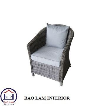 New Dinning Round Rattan Furniture with Aluminium Frame