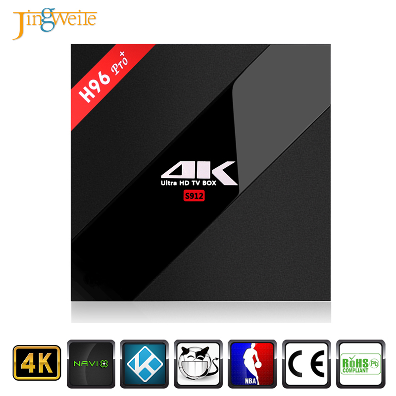 Wholesale Android 7.1 TV Box H96 pro plus 3GB 32GB Amlogic S912 Octa Core Digital Cable Tv Set Top Box