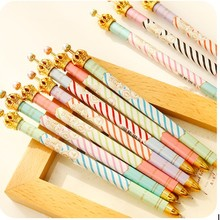 Hot pen manufacturers 2015 Korea Cute Crown Style Mechanical Pencil with BBS brand