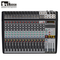 16 channels audio sound power mixer mixing console with usb audio mixing console audio mixer 99 DSP digital effects