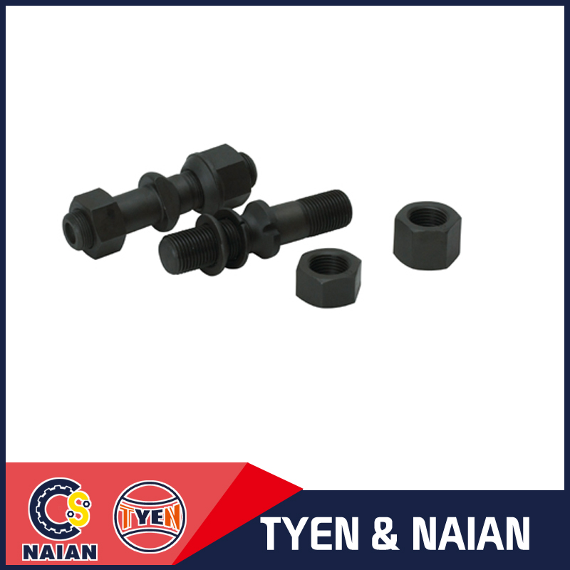 Reliable quality truck parts hub bolt tyre bolt center bolt for trcuk axles