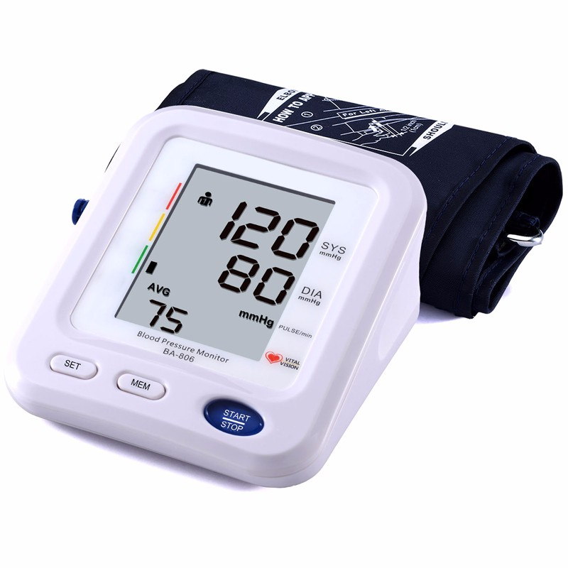 Best selling products for elder home use blood pressure measurement machine digital blood pressure monitor upper arm FDA