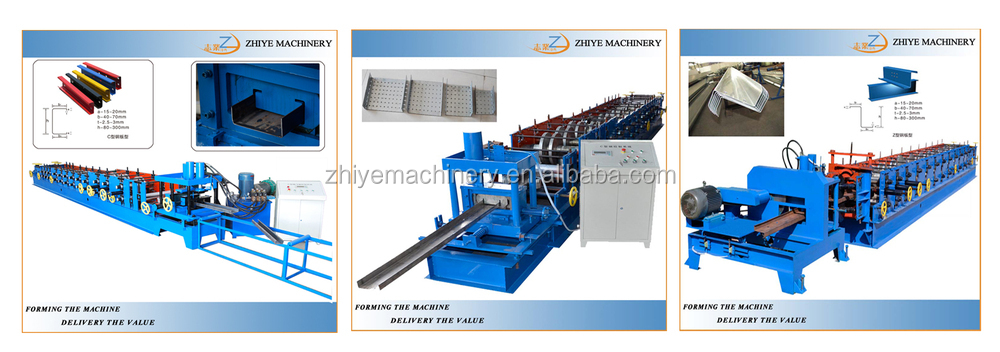 High Efficiency Rain Gutter Equipment for Downspout Roll Forming Machine