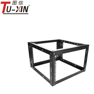 "China supplier 6u19"" 4 Post Open Frame rack IT Network Server Rack server cabinet"