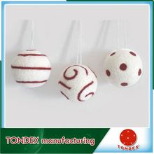 christmas ornaments Mixed Color Dots decorating christmas ball household party