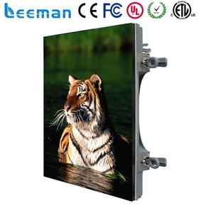 Shenzhen Leeman LED wide view angle indoor electronic message board 2 inch full color led display