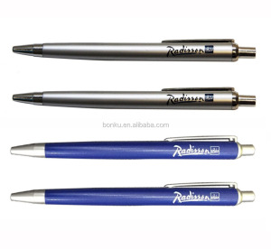 click radisson hotel use plastic custom ball point pen