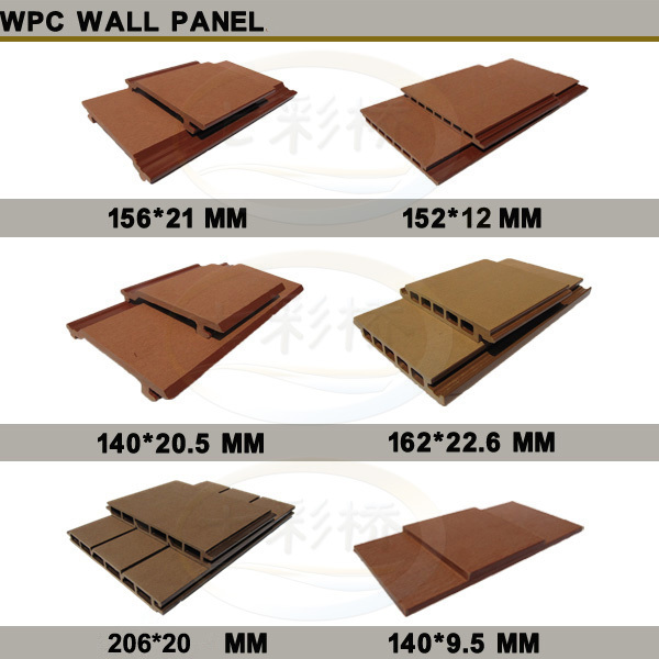 Hot slae wpc wall cladding cheap price wpc exterior wall for Cheapest exterior wall material