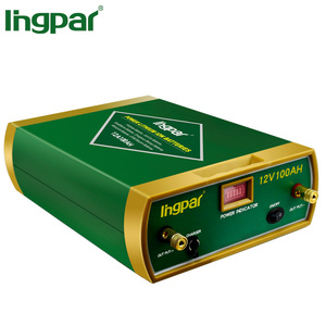 Ingpar brand lithium ion lipo lifepo4 dry cell 12v 24v deep cycle 2000 times 50ah 100ah car battery built in BMS