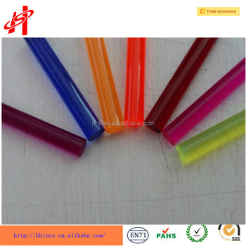 Colored Acrylic Rods Plastic Clear Pmma