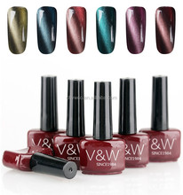 high quality uv led cat eye gel nail polish for professional use