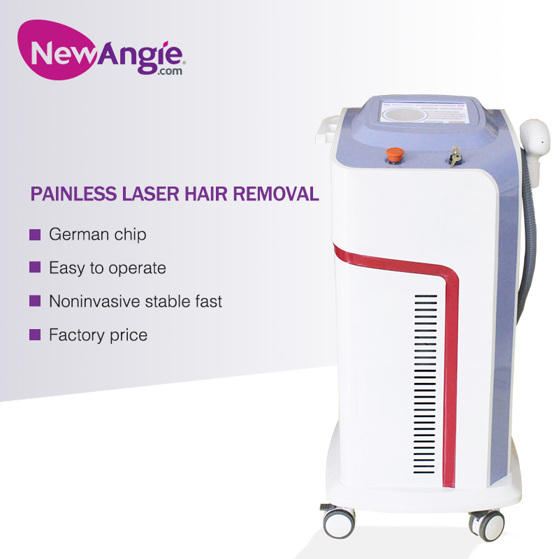 World-selling hair removal 808nm medical laser with 4 German chip