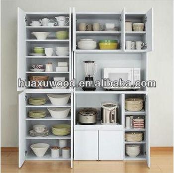 Hxll- 04 Home Office Meubelen Grote Capaciteit Eetkamer Kast Wit Mdf ...