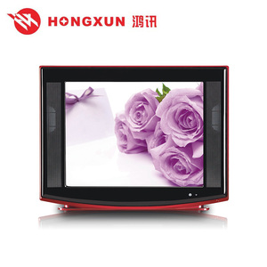 Good quality nice design 21 inch brand new CRT TV with Solution FOR SKD