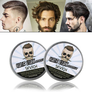 natural organic strong hold hair pomade men styling hair wax