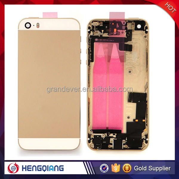 High Quality For iPhone 5S Back Cover Housing Gold