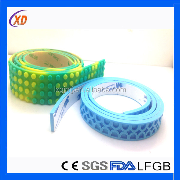 Legosss Tape 2-dots Legosss Reusable Tapes 100% Food Grade Silicone
