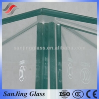 8mm toughened glass cut to size with CCC