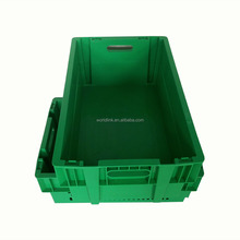 Popular Plastic Stackable and Nestable HDPE Vegetable Storage Food Bin