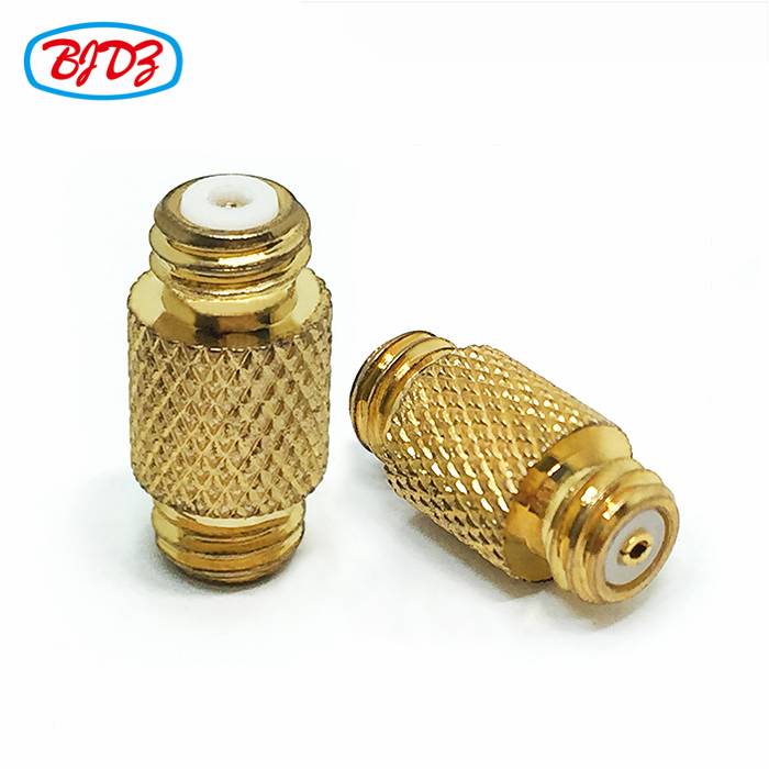 10-32 RF Coaxial microdot Connector adaptor straight 10/32 M5 female jack to M5 female jack adapter