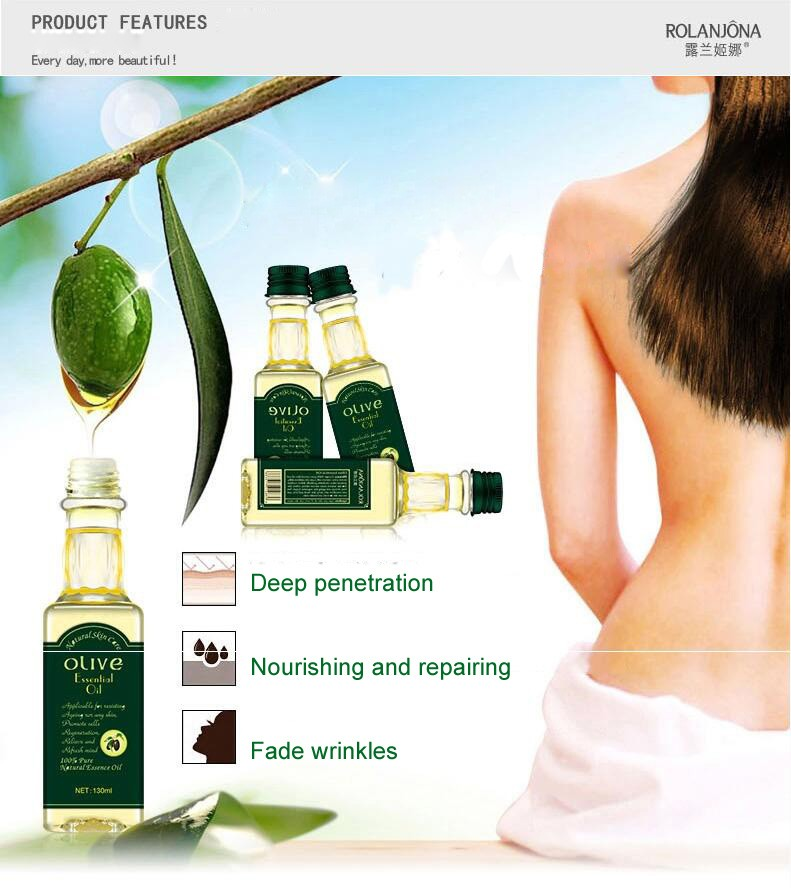 Rolanjona factory beauty cosmetics wholesale cheap olive essential oil