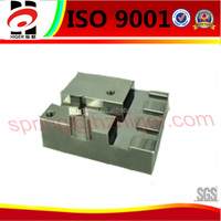 aluminum die casting high quality Hard chrome plating industrial machine base