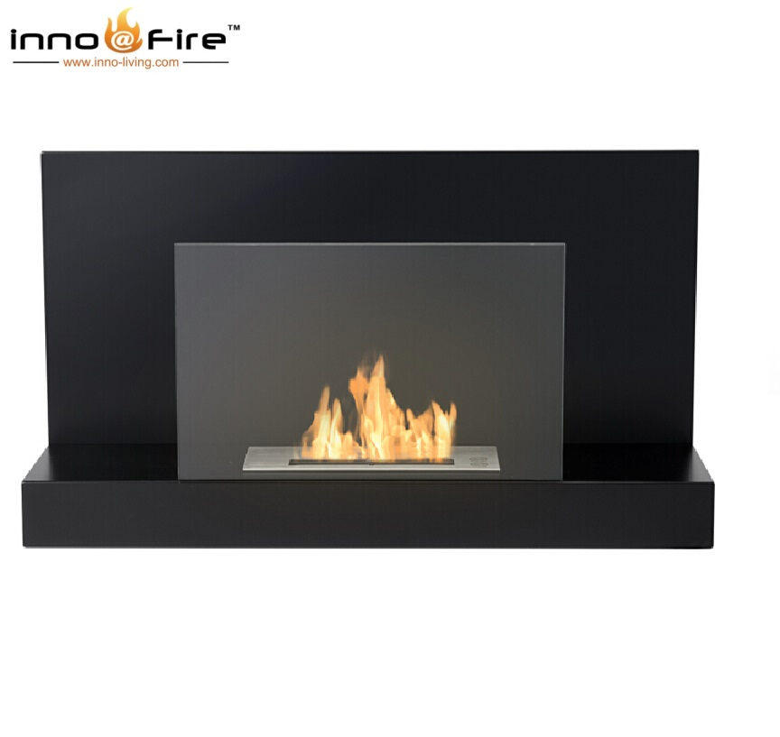 On Bio Chimney Indoor With Stainless Burner Hanging Fireplace