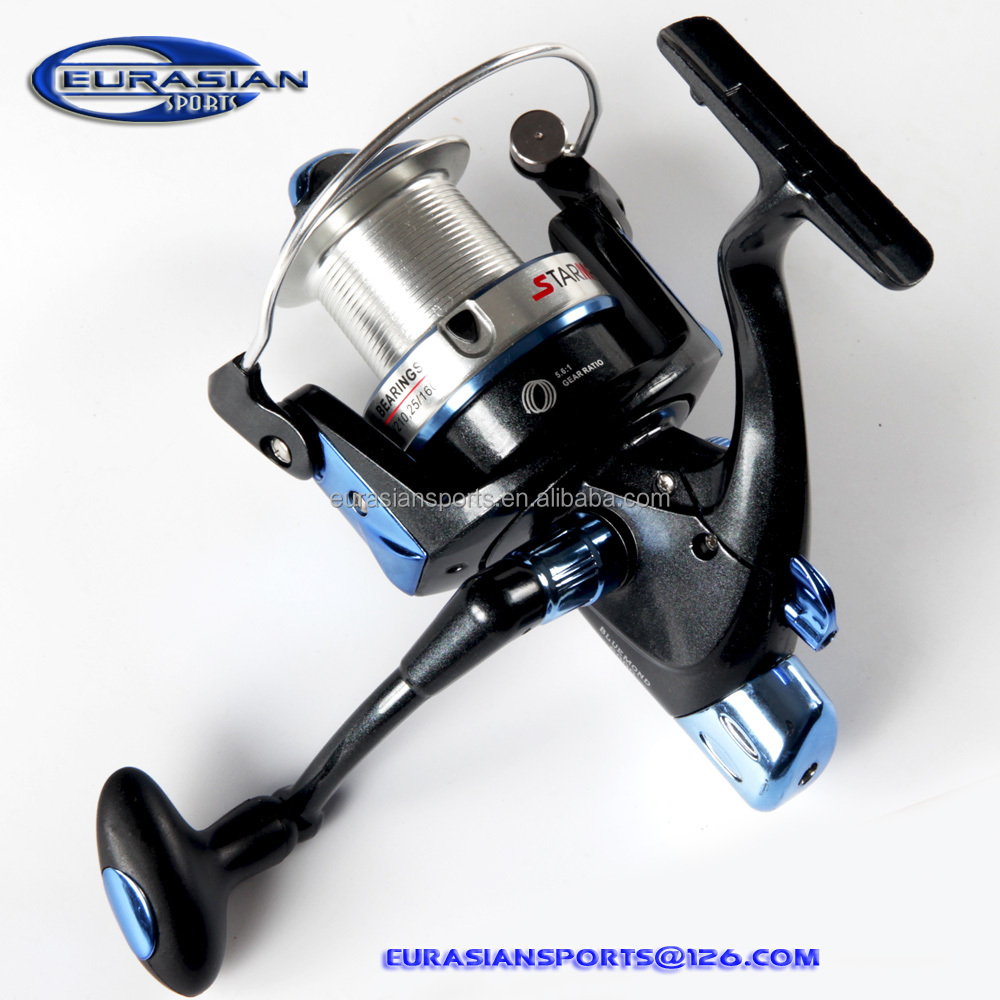 Blue surf reel China reel factory wholesale top quality CNC handle double spools surf fishing reel